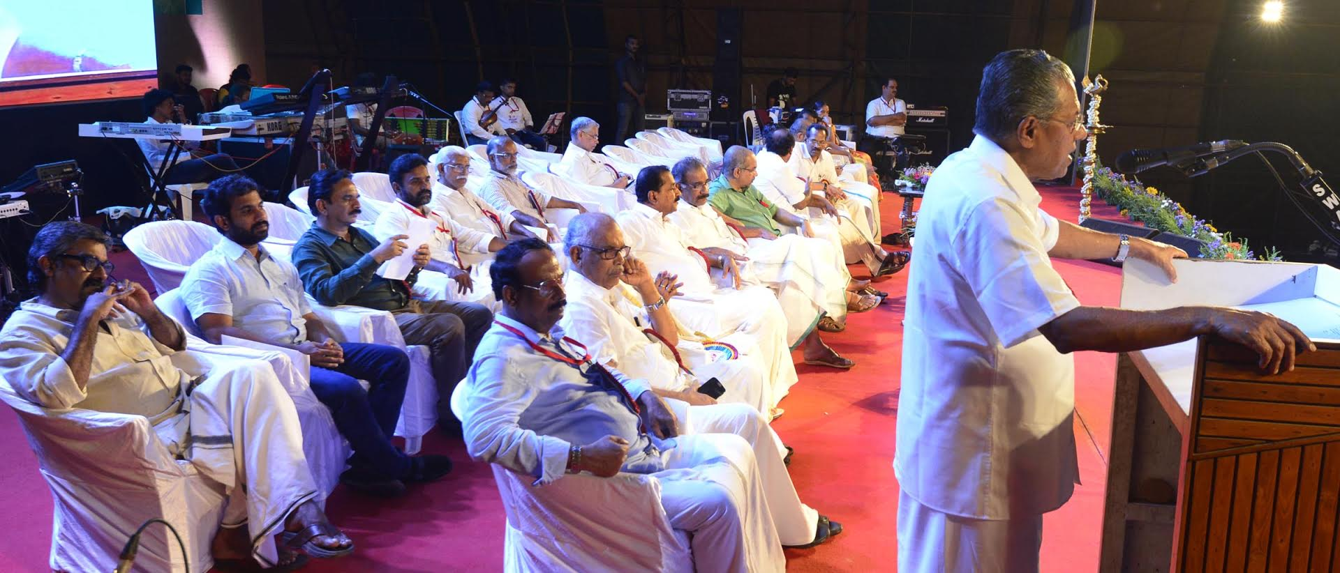 Kerala CM Pinarayi Vijayan addressing at Malabar Christian College,Kozhikode