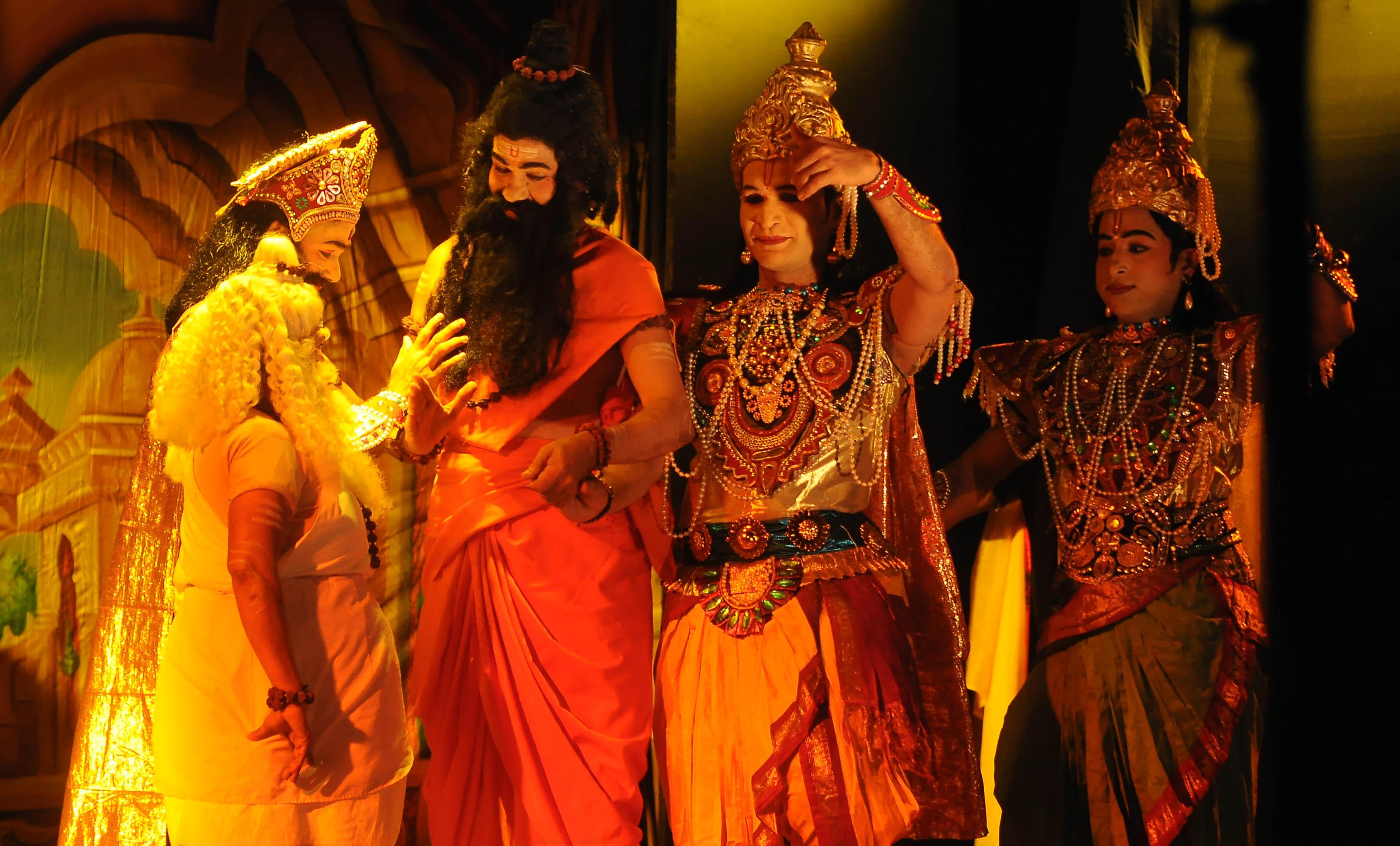 Epic story on Rama