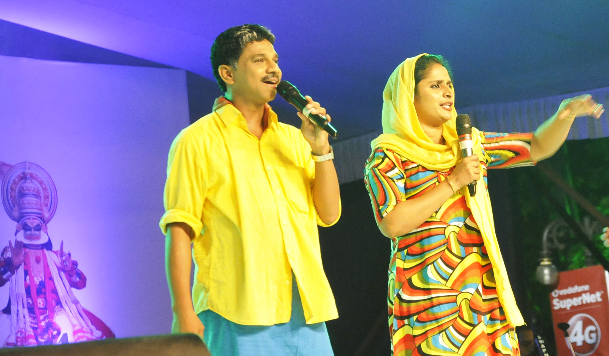 Onam celebrations begin at beach open stage